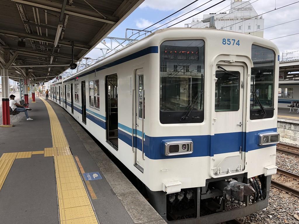 西小泉駅行きの小泉線