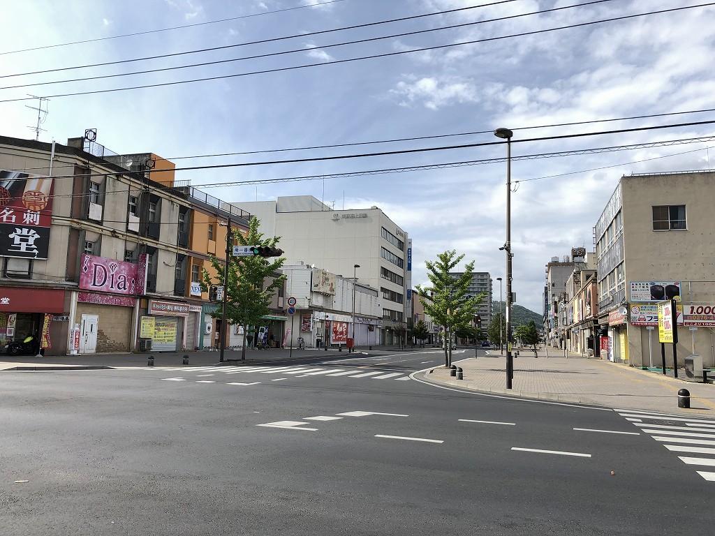 群馬県太田駅前の目抜き通り1
