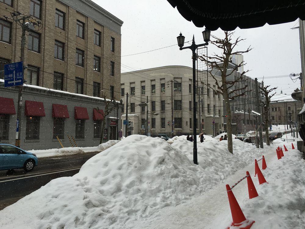小樽市の北のウォール街