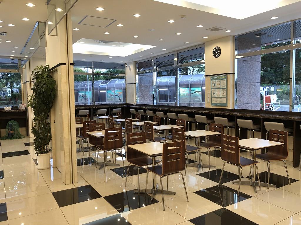 「東横イン 京浜東北線王子駅北口」の朝食スペース