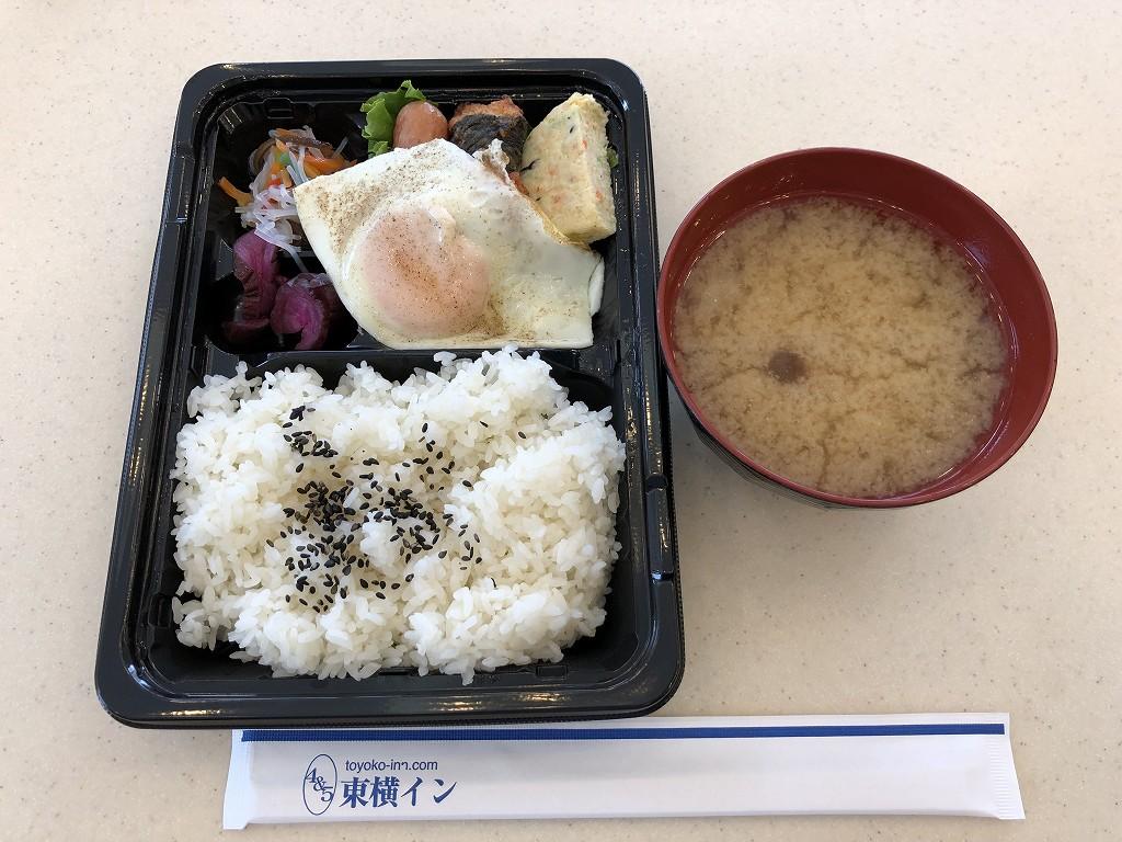 東横イン 京浜東北線王子駅北口の無料の朝食3