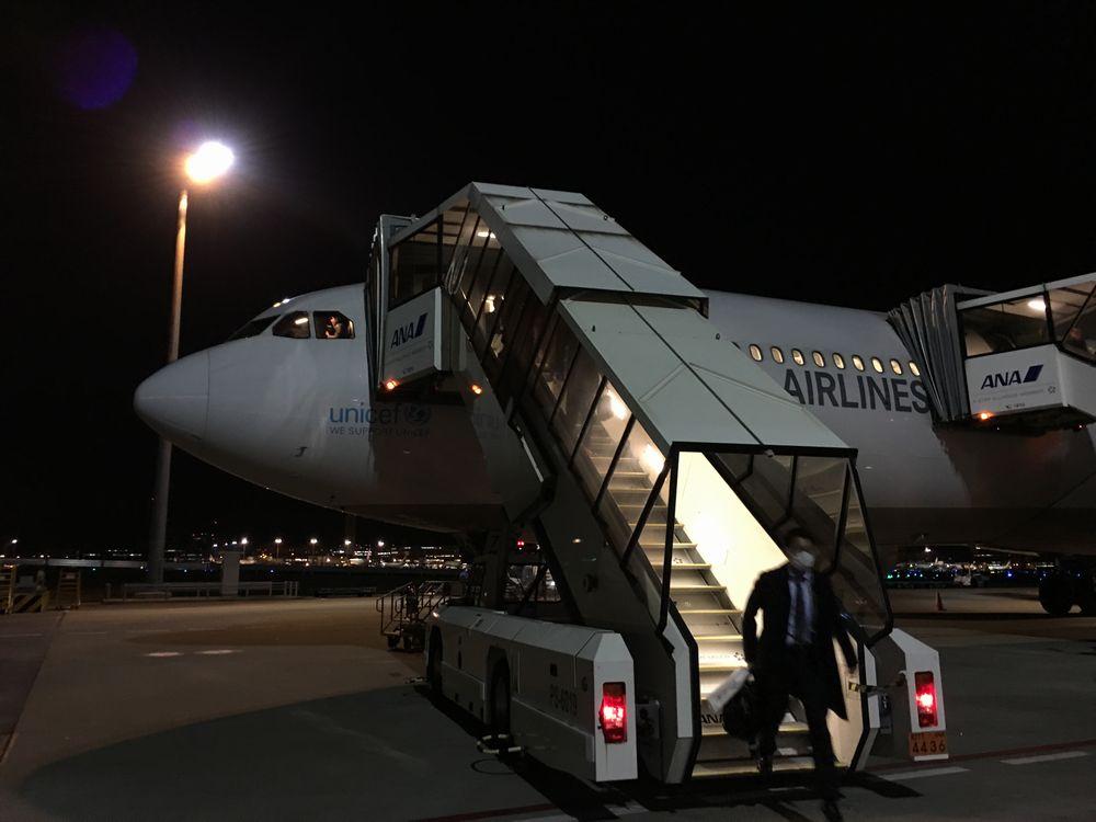 アシアナ航空1065便の沖止め