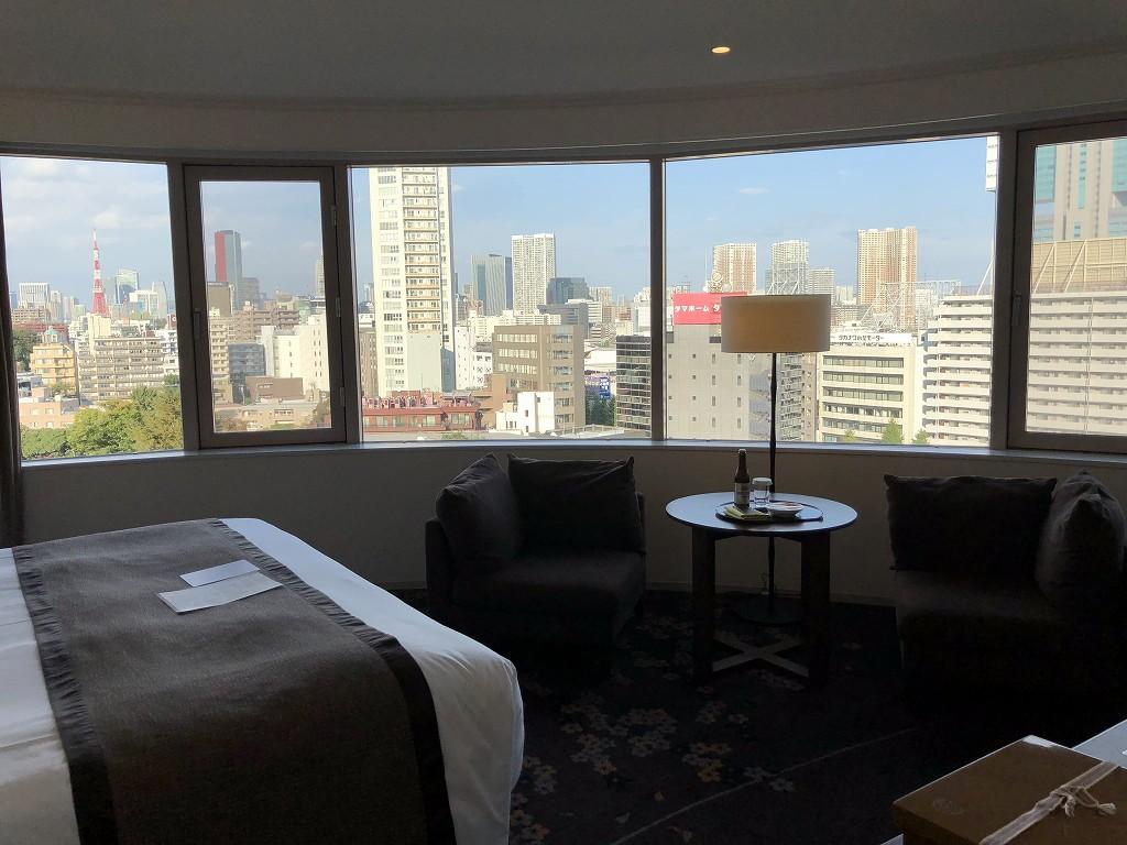 ザ・プリンスさくらタワーの「デラックスコーナールーム」からの眺め1