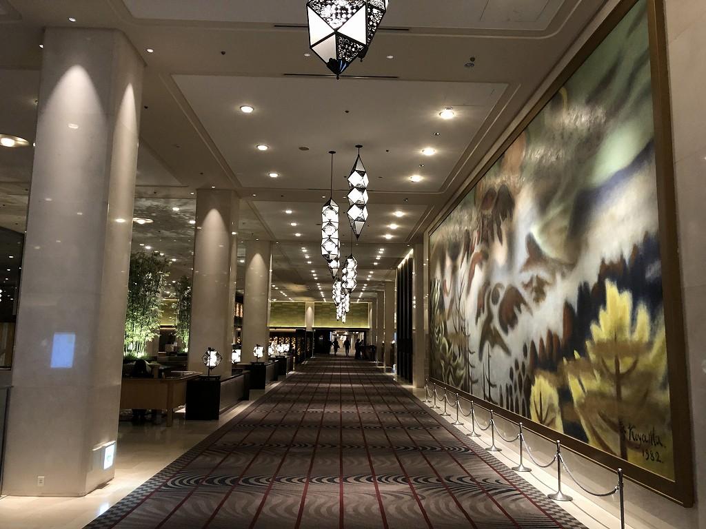 グランドプリンスホテル新高輪のロビー