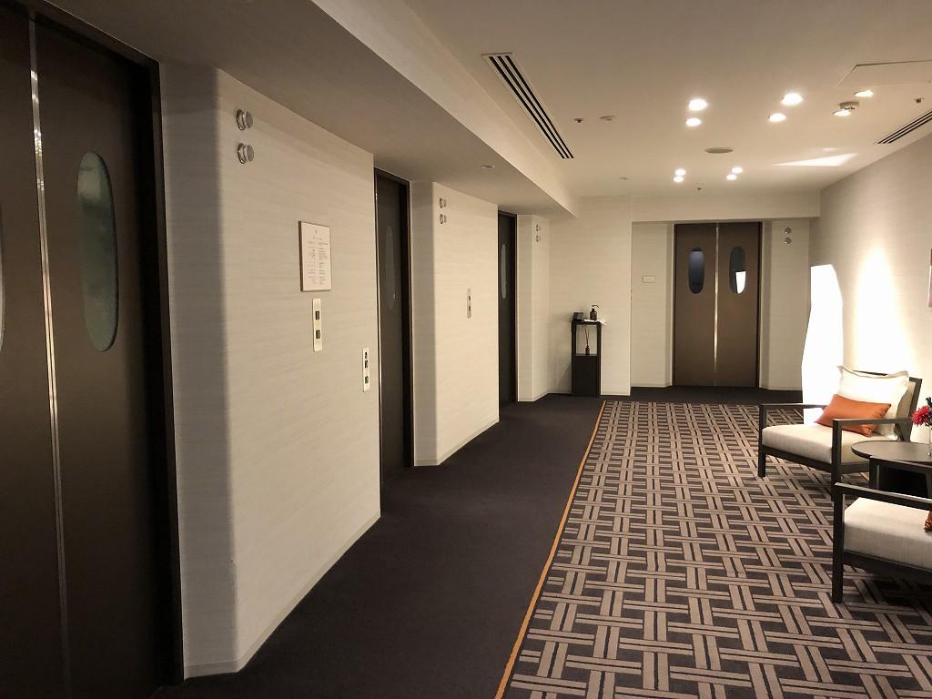 ザ・プリンスさくらタワーのエレベーター
