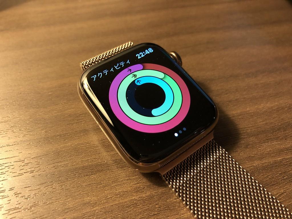 アップルウォッチで今日のカロリー消費を確認