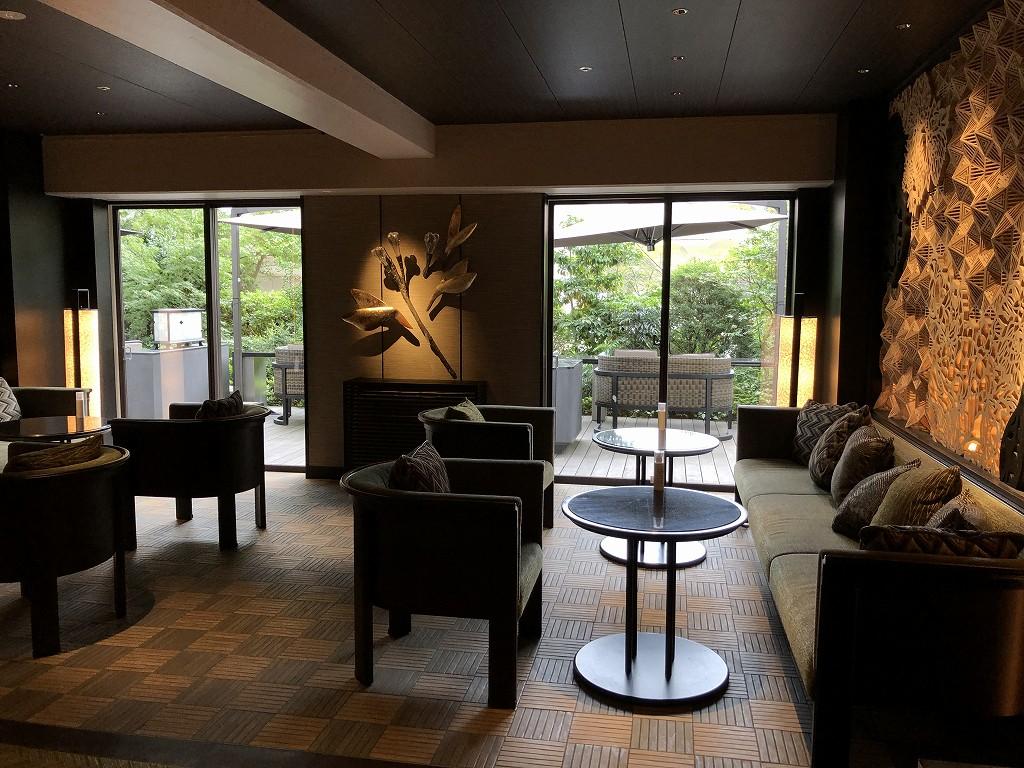 グランドプリンスホテル新高輪の「クラブラウンジ」の内観2