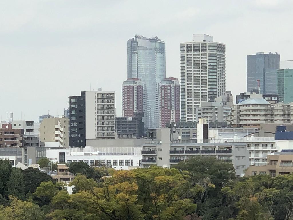 ザ・プリンスさくらタワーから六本木方面2