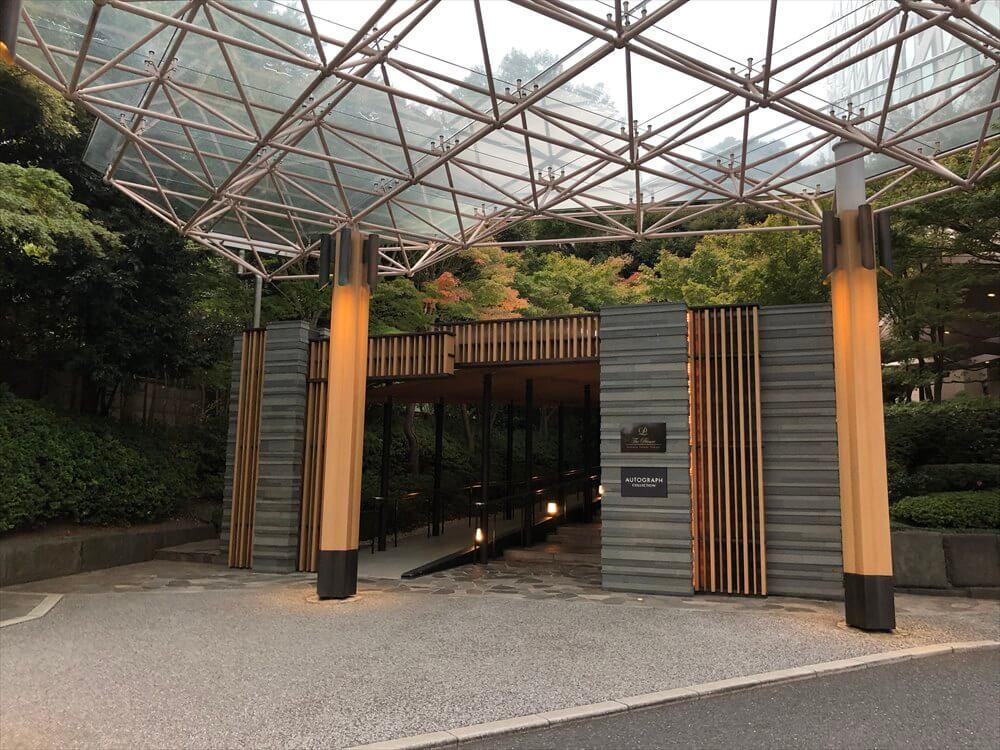 ザ・プリンス さくらタワー東京のエントランス