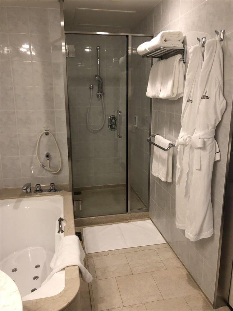 ザ・プリンス さくらタワー東京のサウスサイド デラックスツインのバスルーム2