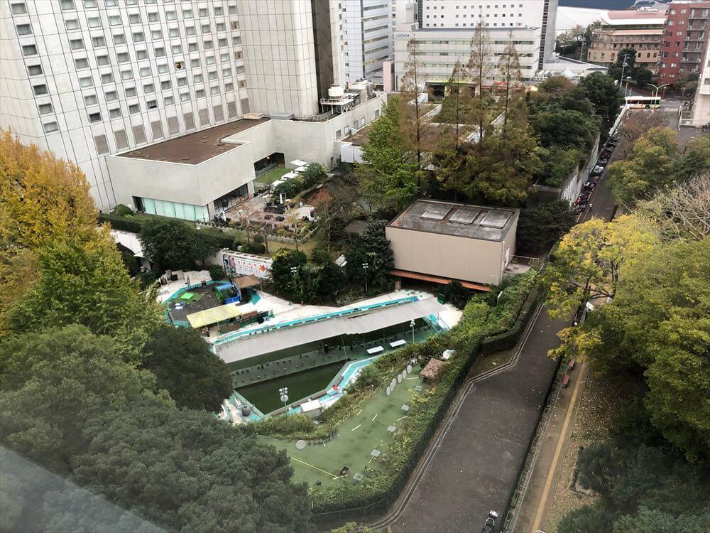 ザ・プリンス さくらタワー東京のサウスサイド デラックスツインからの眺め2