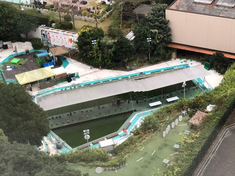 ザ・プリンス さくらタワー東京のサウスサイド デラックスツインからの眺め3