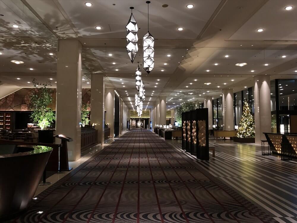 グランドプリンスホテル新高輪のロビーフロア