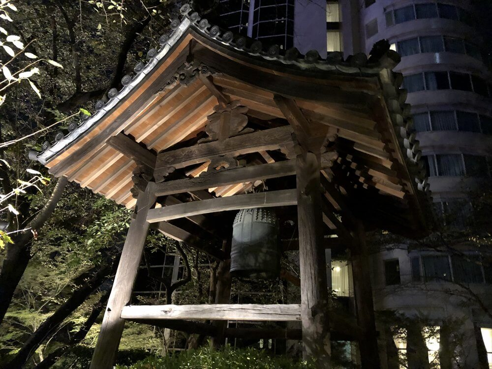 ザ・プリンス さくらタワー東京の夜の鐘