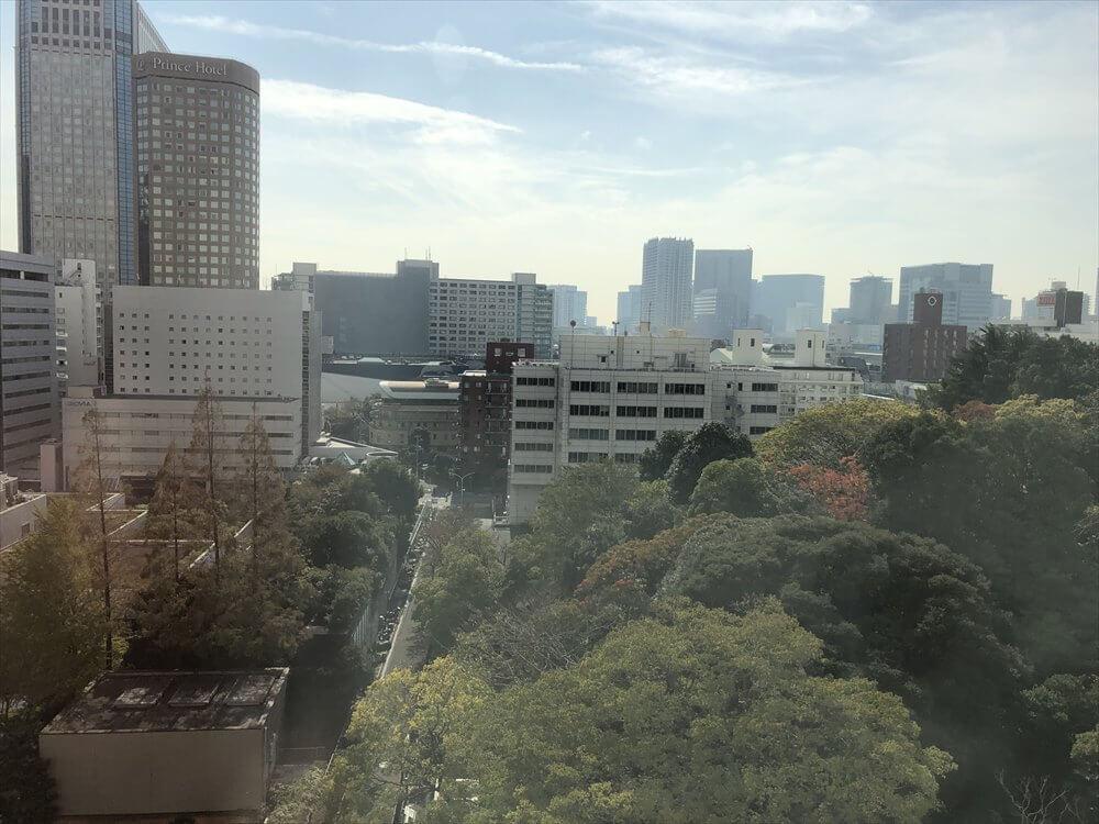 ザ・プリンス さくらタワー東京からの眺め(朝)