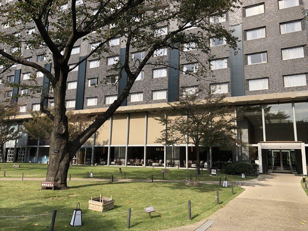 グランドプリンスホテル高輪の桜開花基準木