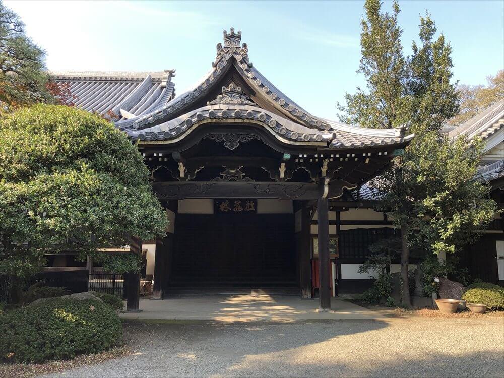 東禅寺の建物2