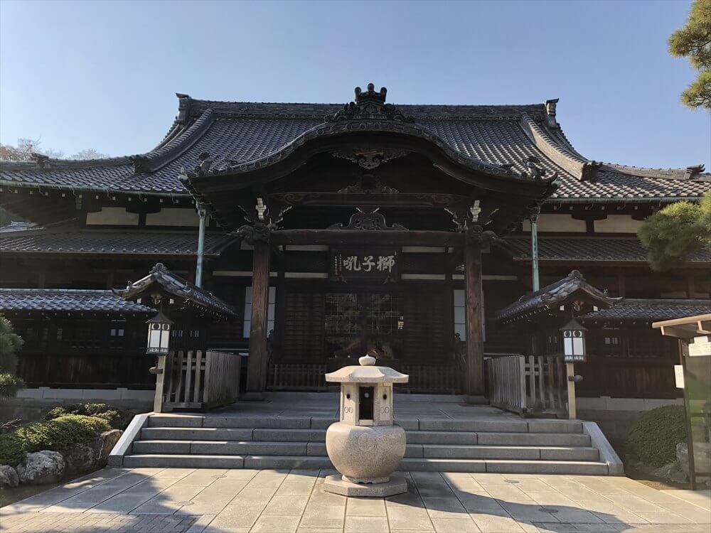 泉岳寺の本堂1