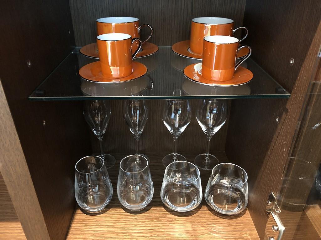 ザ・プリンスギャラリー東京紀尾井町のグラス、カップ類