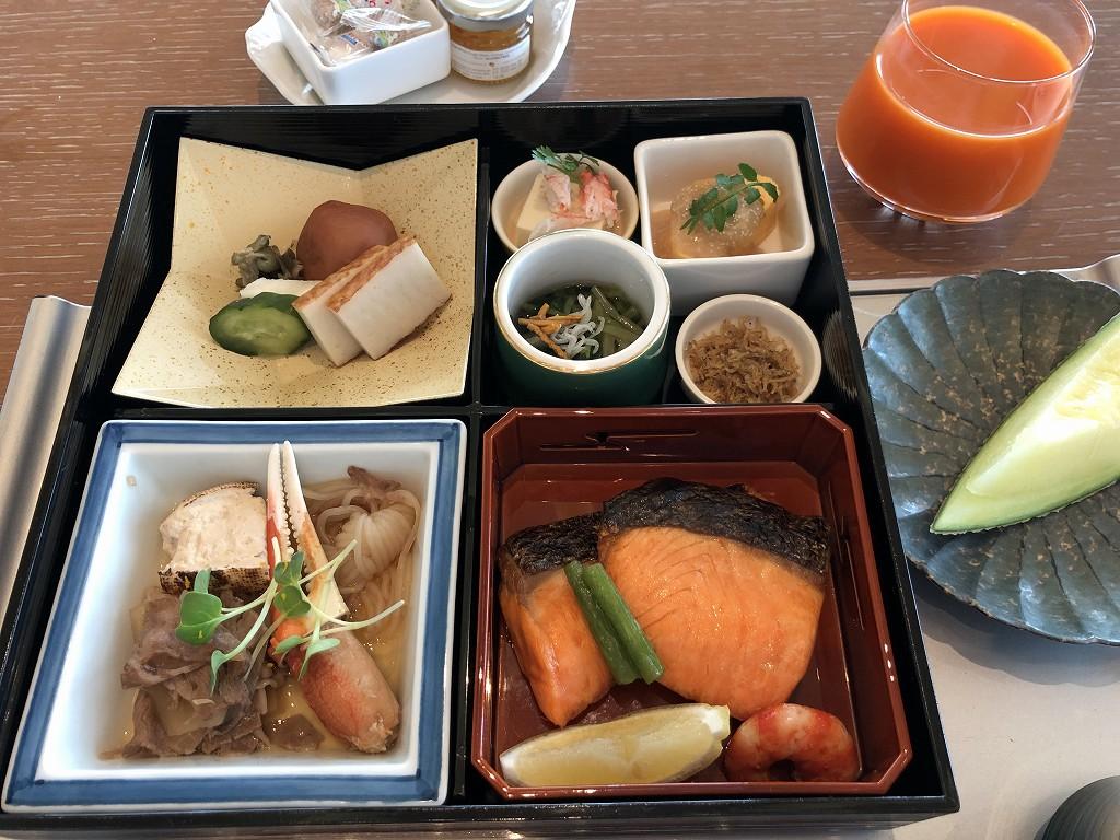 ザ・プリンスギャラリー東京紀尾井町の「OASIS GARDEN」の和朝食