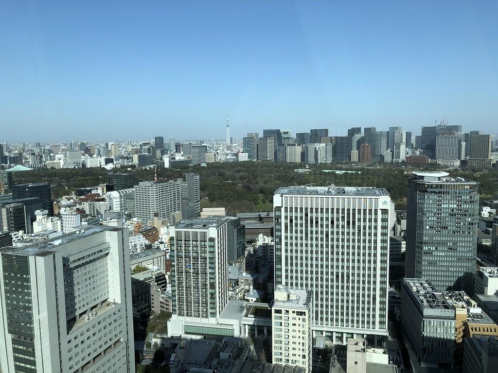 ザ・プリンスギャラリー東京紀尾井町「グランドデラックス プレミア キング」からの眺め1