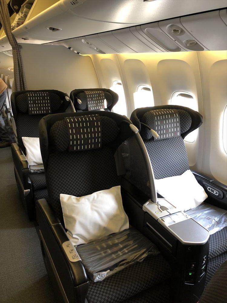 JAL SKY RECLYNERの座席1