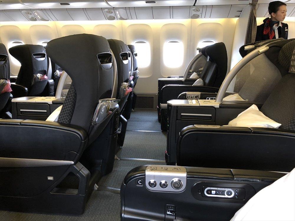 JAL SKY RECLYNERの座席3