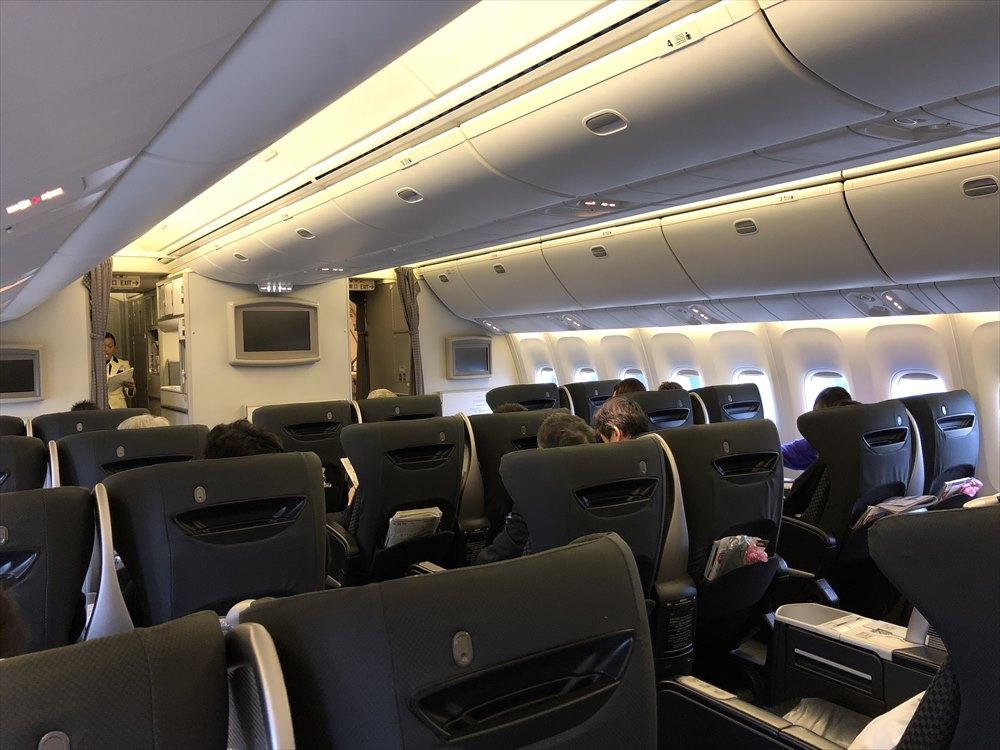 JAL SKY RECLYNERの座席4