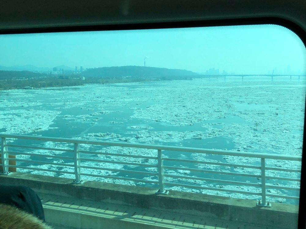 漢江の凍結
