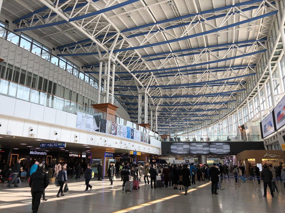 KTXのソウル駅