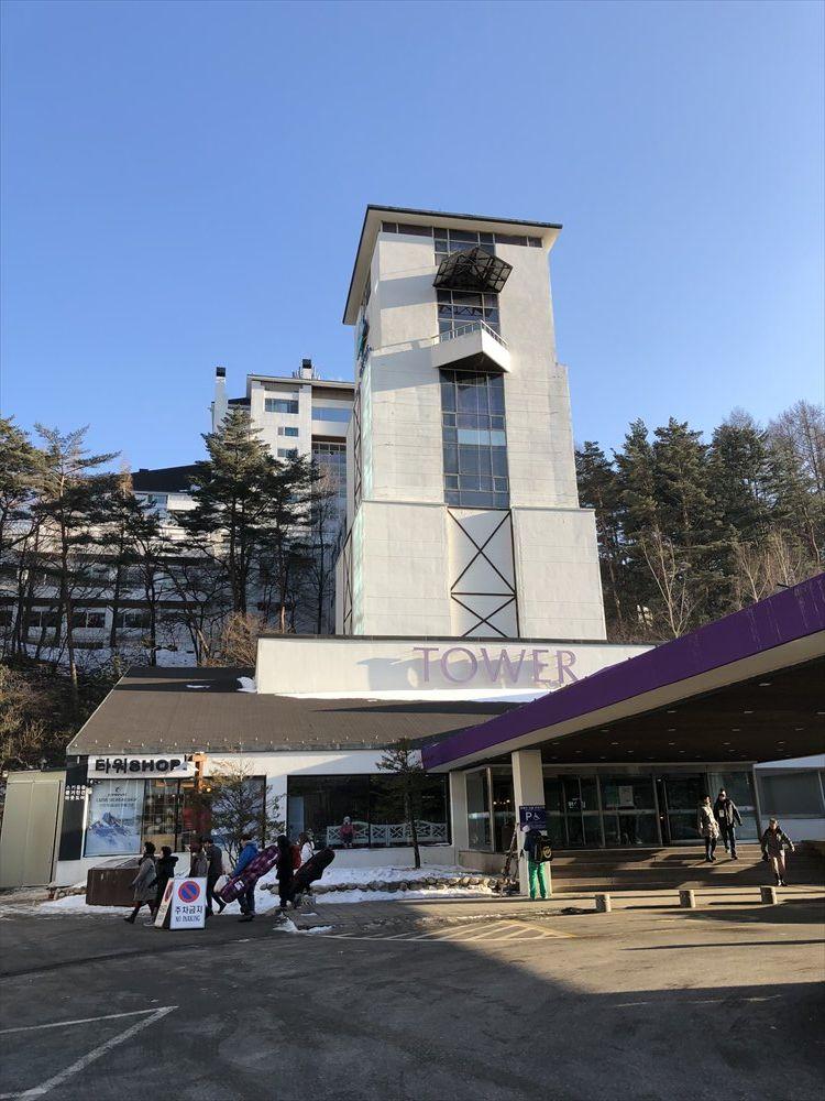ヨンピョン リゾート ドラゴン バレー ホテルのTOWER PLAZA