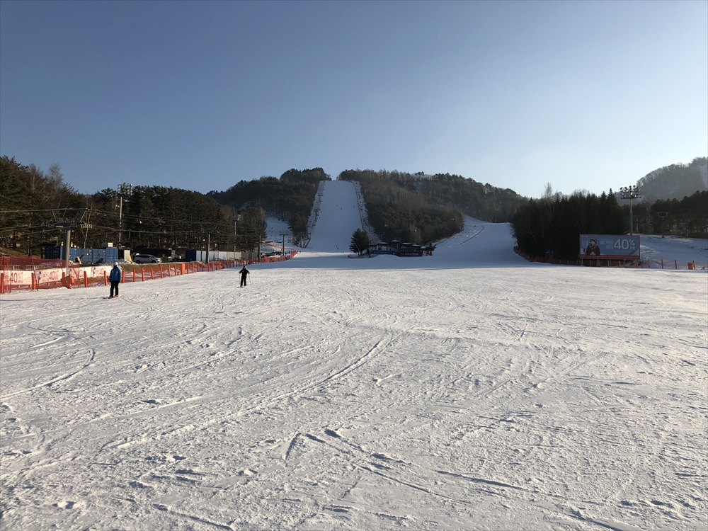 ヨンピョン リゾート ドラゴン バレーのスキー場1