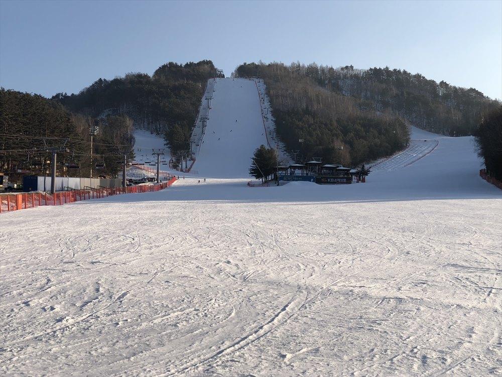 ヨンピョン リゾート ドラゴン バレーのスキー場2