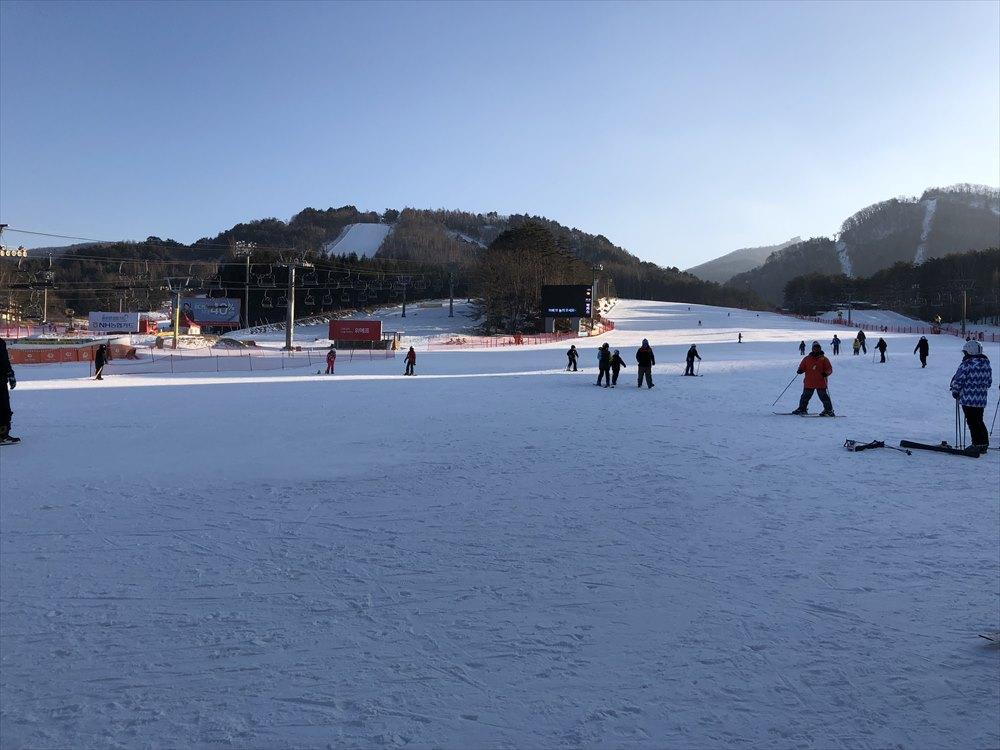 ヨンピョン リゾート ドラゴン バレーのスキー場3