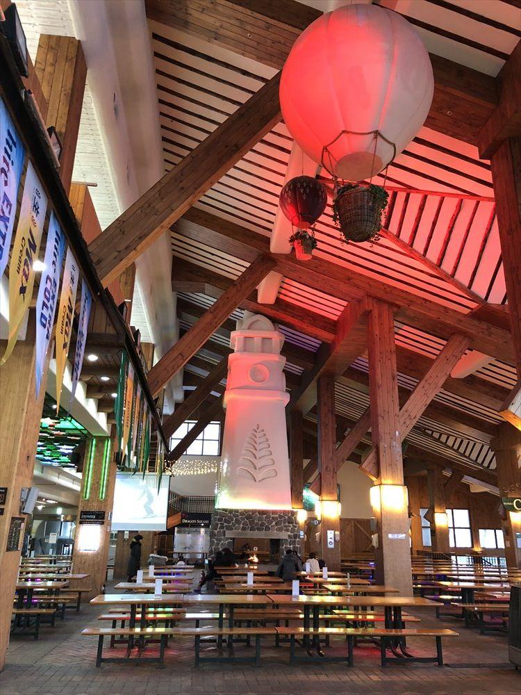 ヨンピョン リゾート ドラゴン バレーのゲレンデパブの内観1