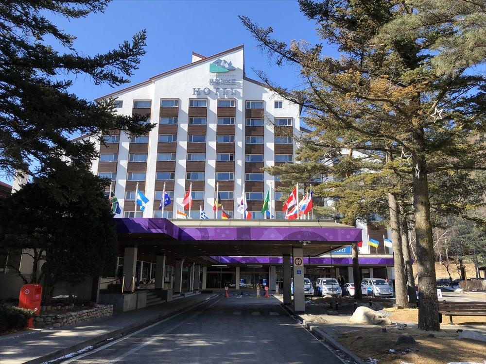 快晴のヨンピョン リゾート ドラゴン バレー ホテル2