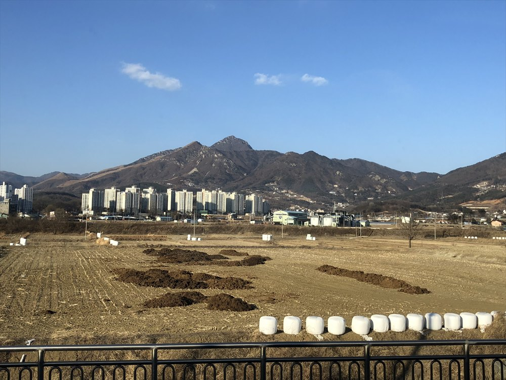 ソウル近郊の気になる山