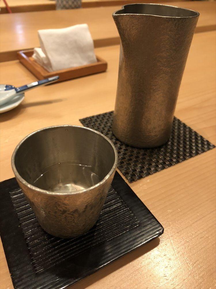 ウェスティン朝鮮ソウルのSUSHI CHOの日本酒
