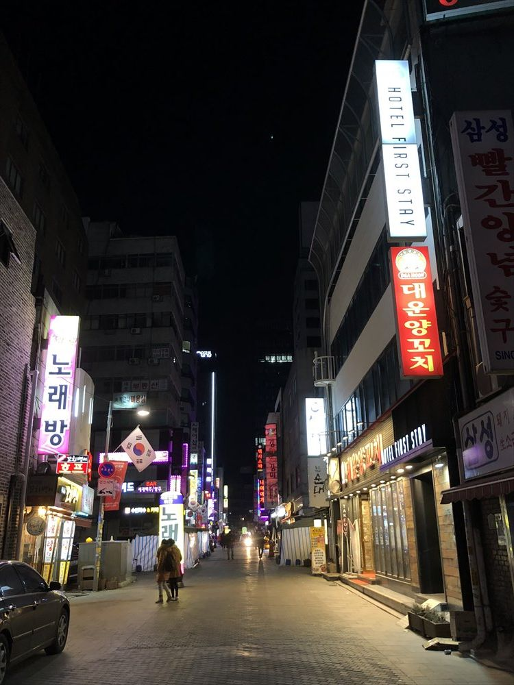 ウェスティン朝鮮ソウル近くの飲み屋街2