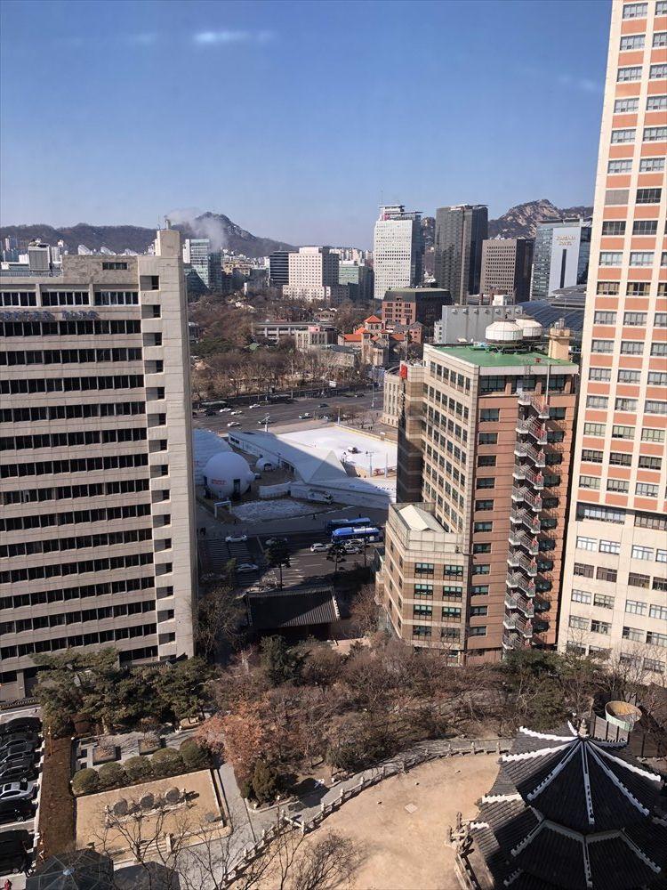 ウェスティン朝鮮ソウルのクラブラウンジ(ランチタイム)1