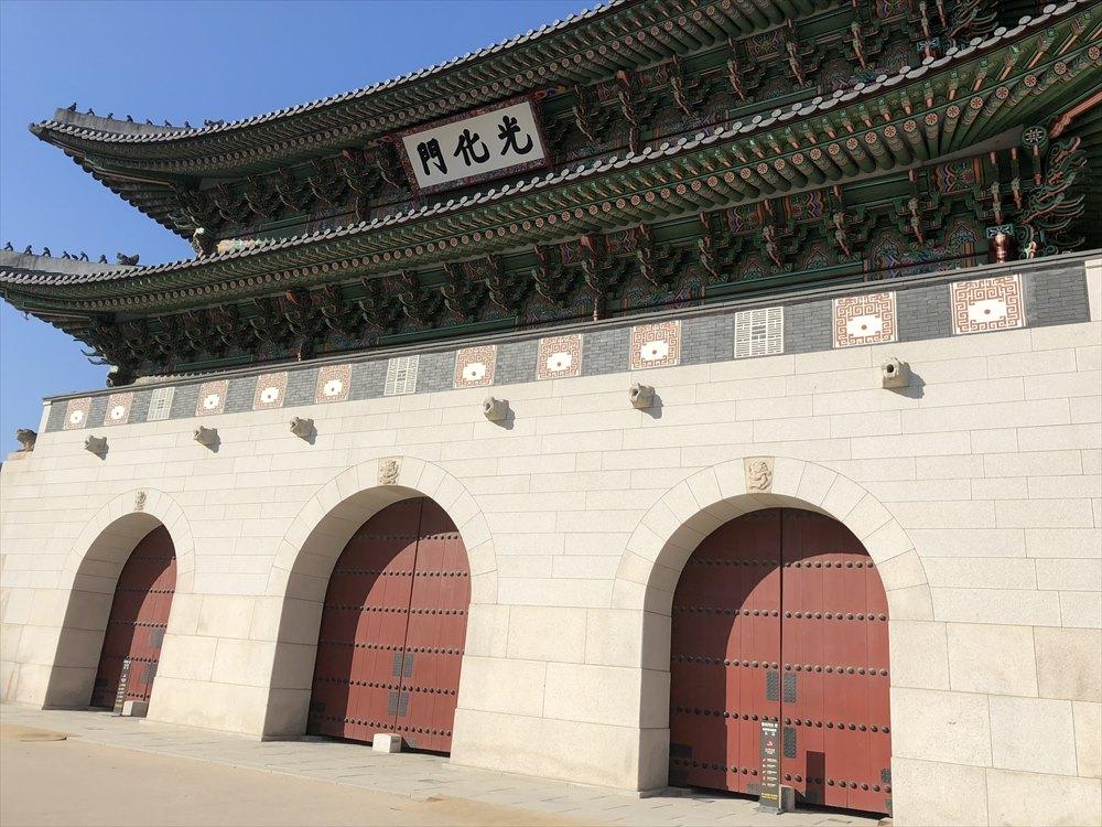 ソウルの光化門