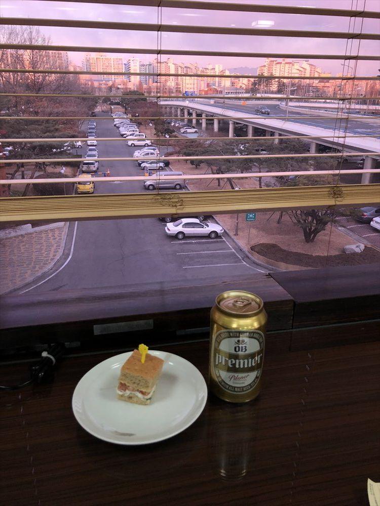 金浦空港の大韓航空ラウンジのフード・ドリンク5
