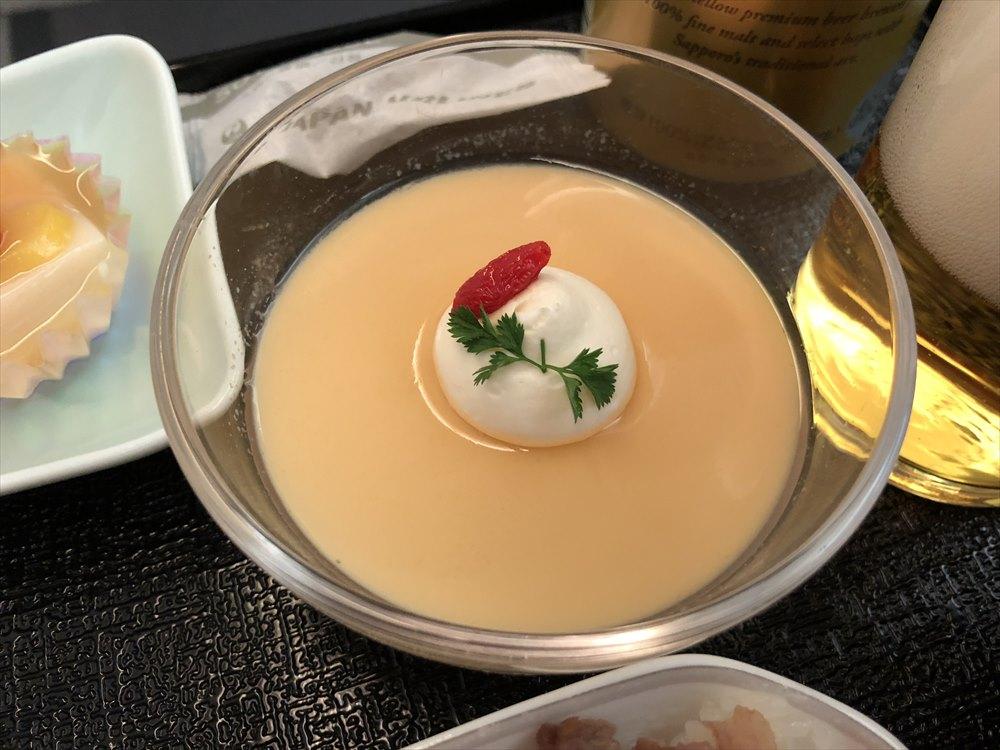 JAL94便(ソウル金浦-羽田)ビジネスクラスの機内食5