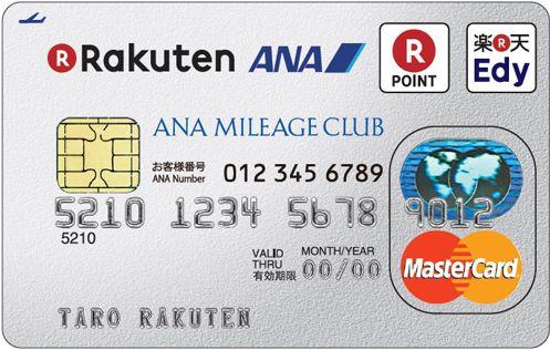 楽天ANAマイレージクラブカード券面デザイン