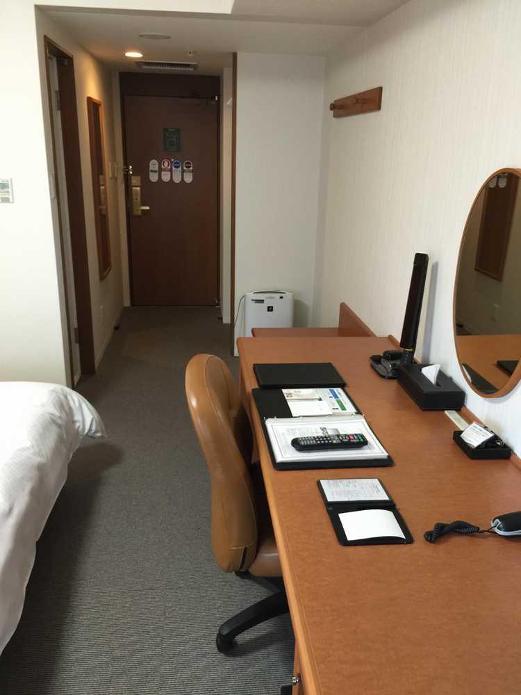 リッチモンドホテル鹿児島金生町デラックスダブルルームのデスク側画像