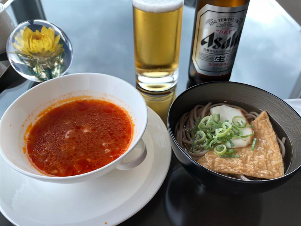 リッツカールトン大阪のクラブラウンジの昼飯3