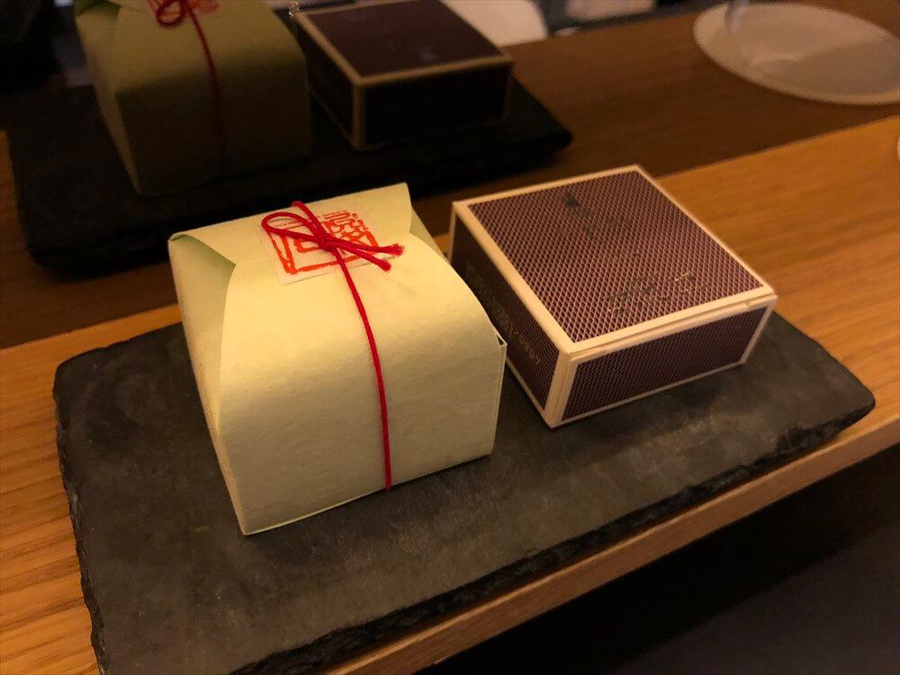 リッツカールトン京都のラグジュアリールームのアメニティ3