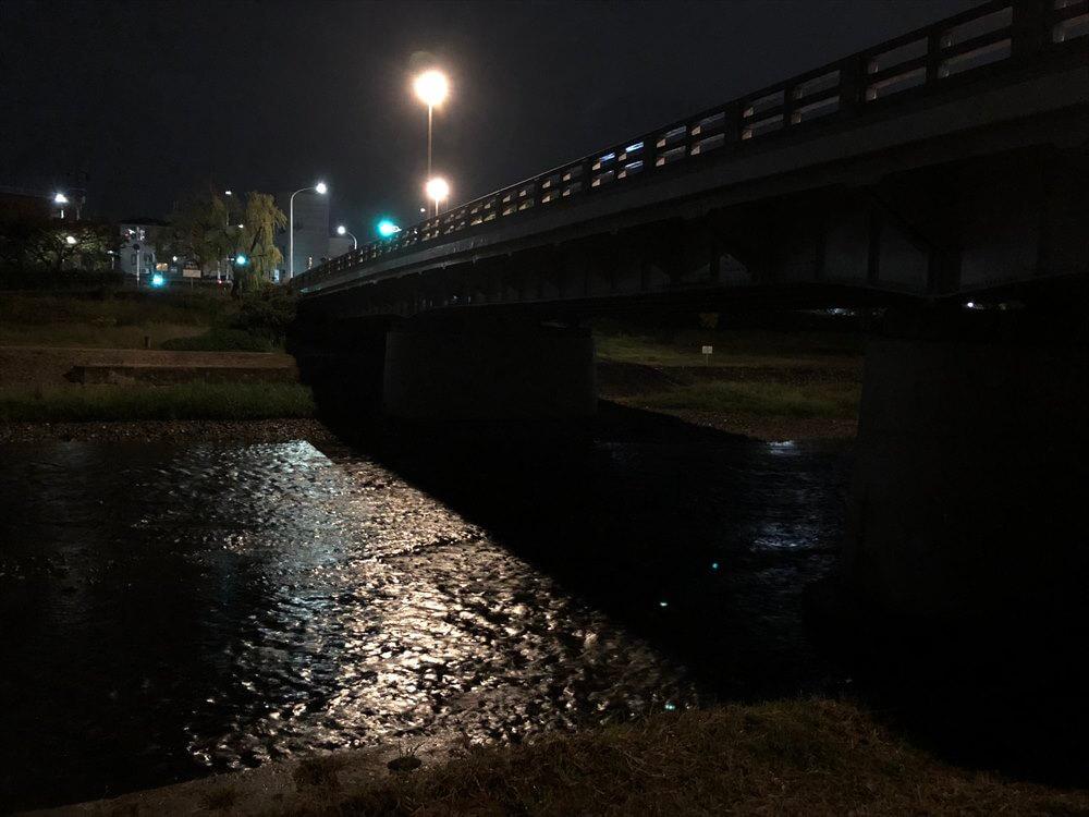 夜の二条大橋1