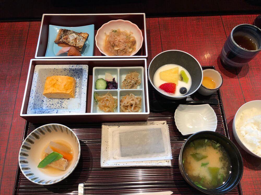 リッツカールトン京都の「水暉」の和朝食3
