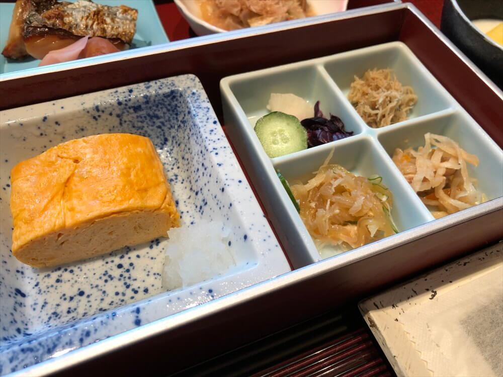 リッツカールトン京都の「水暉」の和朝食4